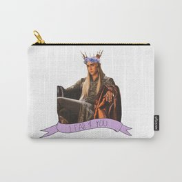 Thranduil - Flower Crown Carry-All Pouch