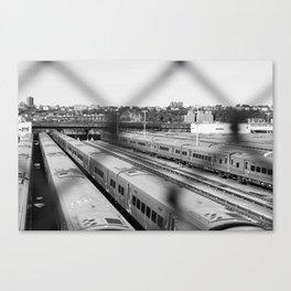 Subway Yard. Canvas Print
