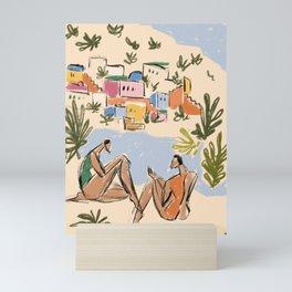 Italian Riviera Mini Art Print