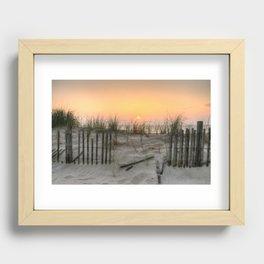 Broken Fences  Recessed Framed Print