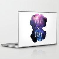 okay Laptop & iPad Skins featuring Okay? Okay. by Call me Calliope