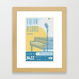 Vibetone Jazz Framed Art Print