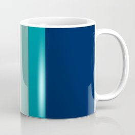 7 Colorful Retro Summer Stripes Bamola Coffee Mug