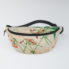 Fugen's Elephant Cherry Blossoms Fanny Pack