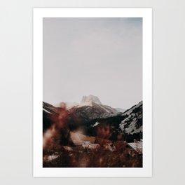 Grand Séru /// Mont Thabor Art Print