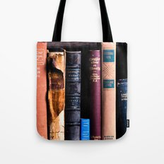 Vintage Books Tote Bag