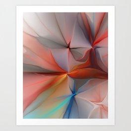 Abstract 030912 Art Print
