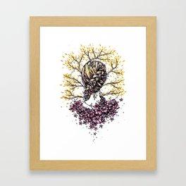 Summer Braid Framed Art Print
