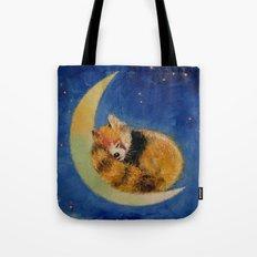Red Panda Dreams Tote Bag