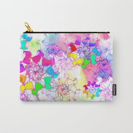 psychedelic corgi Carry-All Pouch