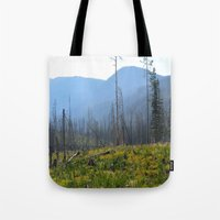montana Tote Bags featuring Montana by MelissaLaDouxPhoto