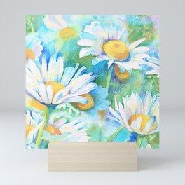 Happy Daisies Mini Art Print