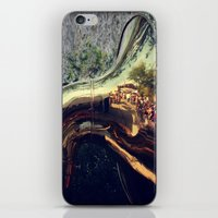 sonic iPhone & iPod Skins featuring Sonic Reflections by KunstFabrik_StaticMovement Manu Jobst