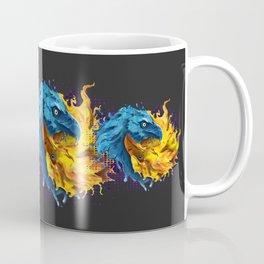 Eagles Elemental Yin Yang Coffee Mug