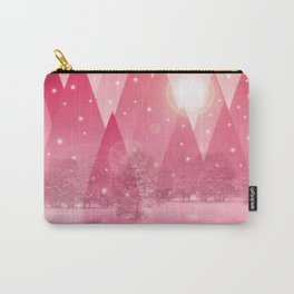 Magic winter pink Carry-All Pouch