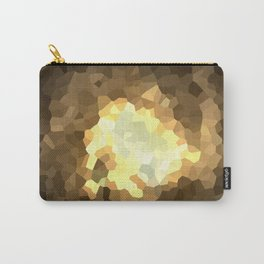 Gold Light Universe Love Carry-All Pouch