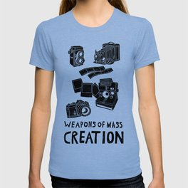 Weapons Of Mass Creation - Photography (clean) T-shirt
