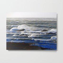 Endless Waves Metal Print