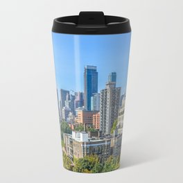 Toronto condo buildings. Travel Mug