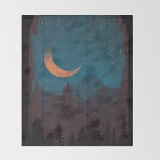 Those Summer Nights... Throw Blanket
