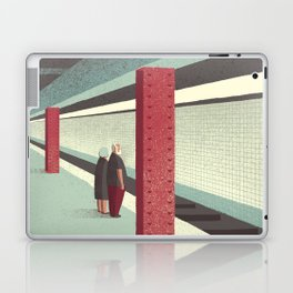 Day Trippers #3 - Waiting Laptop & iPad Skin