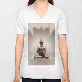Buddha 13 Unisex V-Ausschnitt