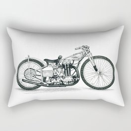 Board Track Racer Rectangular Pillow