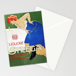 Vintage Italian poster - Dudovich - Liquore Strega Stationery Cards