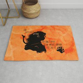 Our Fate Lives Within Us Rug