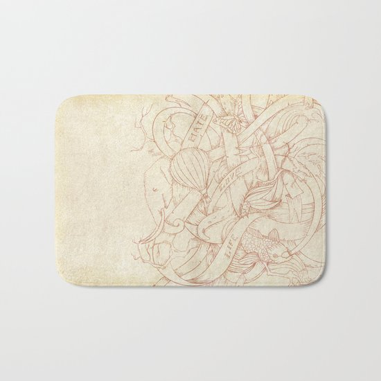 Abstract Nature | VACANCY zine | Bath Mat