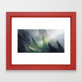 Breathing Place Framed Art Print