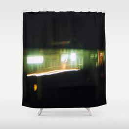 City Abstract Light 01 Shower Curtain