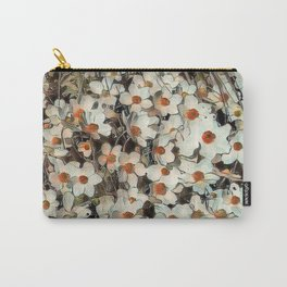 Toony World Floral 2 Carry-All Pouch