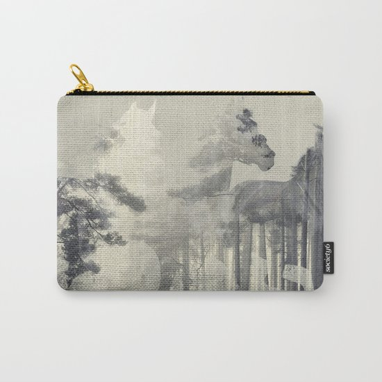 Like a Horse in the woods Carry-All Pouch