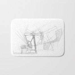 The Drawing Machine Bath Mat