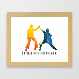 Dayman, Fighter of the Nightman Framed Art Print