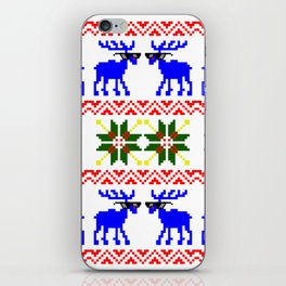 Ugly Sweater ( Deal With It ) iPhone Skin