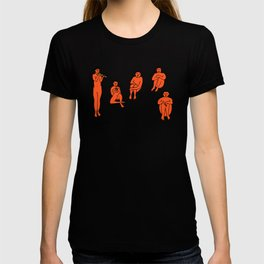 Henri Matisse La Musique (The Music) 1910 Colored Reproduction for Wall Art, Prints, Posters, Tshirts, Men, Women, Kids T-shirt