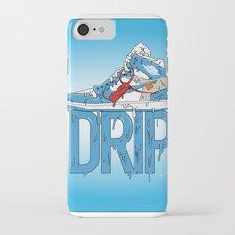 """OFF WHITE Jordan 1 UNC """"DRIP"""" iPhone Case"""