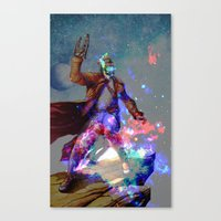 star lord Canvas Prints featuring Star-lord by KP Designs