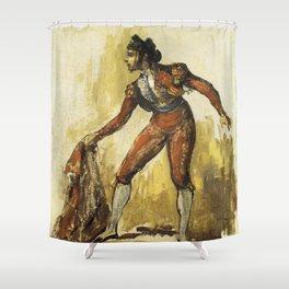 Édouard Manet - Jeune femme en costume de toréador Shower Curtain