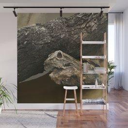 Ghost Snake Wall Mural