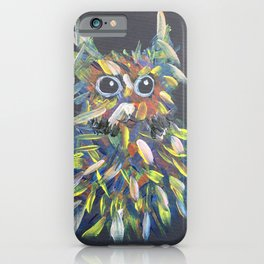 confused hairball iPhone Case