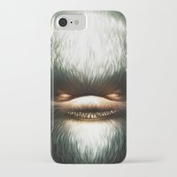 evil iPhone & iPod Cases featuring Little Evil by Dr. Lukas Brezak