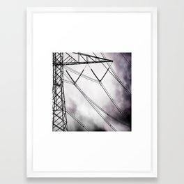 Weeping Line Framed Art Print