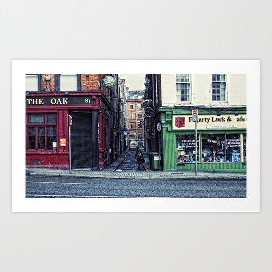 Old Dub Lihn Art Print