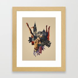 Backhand Framed Art Print