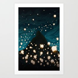 The Mage Art Print