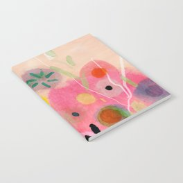 floral power abstract Notebook