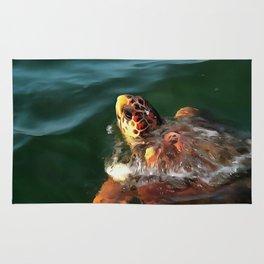 Loggerhead Turtle Rug